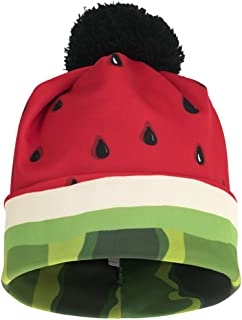 Ababalaya Unisex 3D Print Skullies & Beanies with Pompon