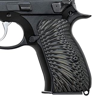 Cool Hand G10 Grips for CZ 75 Compact, Screws Included, Sunburst Texture