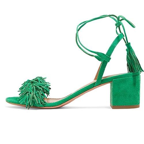 5e10beb1702f1 Green Sandals: Amazon.com