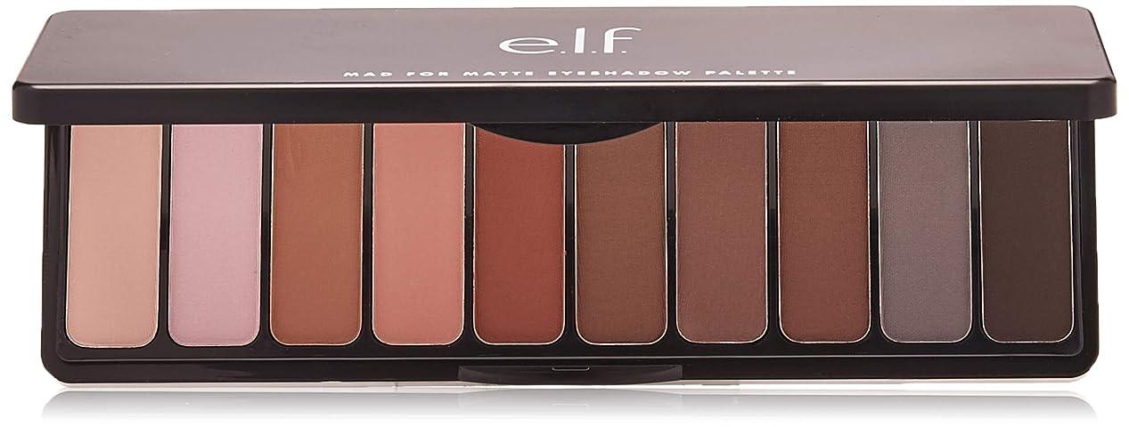 小麦ボーナス火山e.l.f. Mad For Matte Eyeshadow Palette - Nude Mood (並行輸入品)