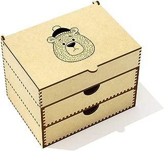 Azeeda  Bear Face  Vanity Case Makeup Box  VC00019795