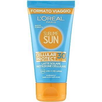 L'Oreal Paris Dermo Expertise Sublime Sun - Crema Protectora Facial Anti-edad, Solar SPF 30, 50 ml