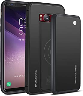 Bestgay Battery Case for Samsung Galaxy S Lite Luxury Edition Samsung Galaxy S8, Portable Protective Charging Case Extended Rechargeable Battery Pack Charger Case Compatible with Samsung