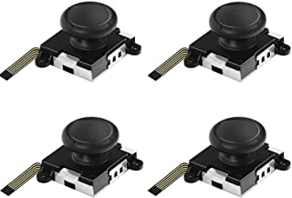 Switch NS Joy-con用 Chayoo ジョイコン 修理 コントロール 右/左 センサーアナログジョイスティック switch ジョイコン スティック 修理 Joy-conスティック交換 N-Switch ジョイコンスティック4個セット