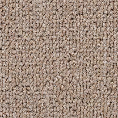 BODENMEISTER BM72051_beige_400x500 Teppichboden Auslegware Meterware Schlinge 400 cm und 500 cm breit, Verschiedene Längen, Variante, 4x5m