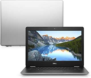 "Notebook Dell Inspiron i14-3481-U20S Ci3 4GB 128GB SSD Tela LED HD 14"" Linux McAfee Prata"