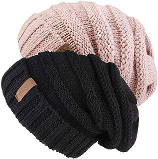 beanie slouchy crochet