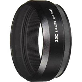 JJC FUJIFILM X70 専用レンズフード  LH-JX70(Fuji LH-X70 互換) ブラック