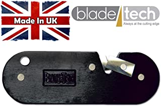 Blade Tech - Afilador de cuchillos (tungsteno), color negro, plateado, azul o rojo negro negro