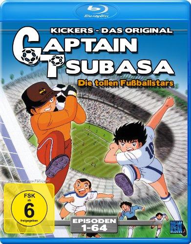 Captain Tsubasa - Die tollen Fußballstars - Episoden 01-64 (Blu-ray) [Alemania] [Blu-ray]
