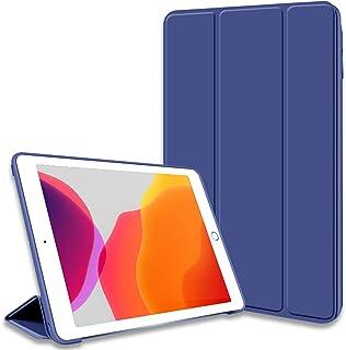 KenKe 新型 iPad 10.2 インチ ケース(2020/2019秋発売新型) 軽量 柔らかいシリコン TPU材質 iPad8 iPad7 カバー 3段階折り畳み可 スタンド マグネット付き 自動スリープ機能 iPad 第8世代 第7世代...