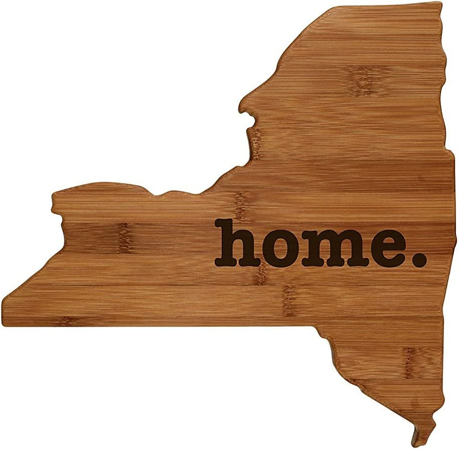 New York Shaped Bombing free shipping Bamboo Wood Cutting Engraved Denver Mall Board home. Persona