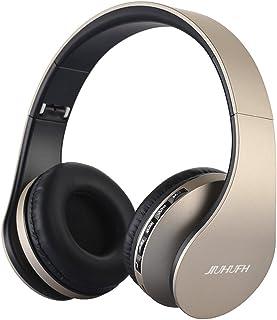 comprar comparacion JIUHUFH Auriculares Bluetooth con micrófono Incorporado/Reproductor de MP3/Radio FM/Modo con Cable para PC/Teléfonos celul...