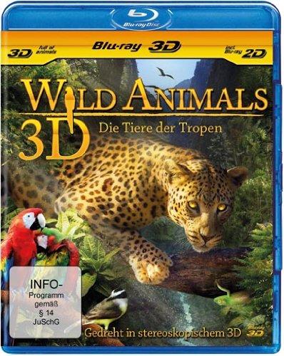 Wild Animals 3D - Die Tiere der Tropen [3D Blu-ray inkl. 2D]