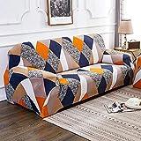 MKQB Funda de sofá de celosía geométrica, Funda de sofá...