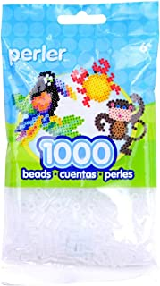 Perler Beads 1,000 Per Package - Clear (Pack of 3)