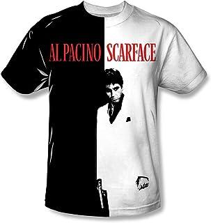 Scarface Camisa de sublimación para hombre con póster grande