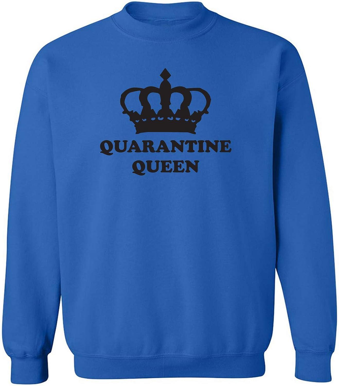 zerogravitee Quarantine Queen Crewneck Sweatshirt