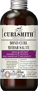 Curlsmith - Bond Curl Rehab Salve, Bond Building Strength Treatment for Weak, Damaged Hair (8 fl oz)