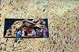 Papier rocher - Beige - 120 x 180 cm