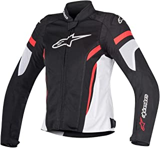 Alpinestars Chaqueta moto Stella T-gp Plus R V2 Jacket Black White Red, Negro/Blanco/Rojo, M