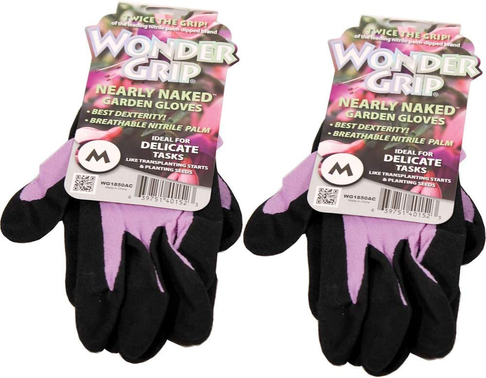 Wonder Grip Nearly Naked Gloves Color Medium 2 Translated Import Assorted Pack