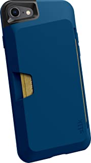 Smartish iPhone 7/8 Wallet Case - Wallet Slayer Vol. 1 [Slim + Protective + Grip] Credit Card Holder for Apple iPhone 8/7 (Silk) -Blues on the Green