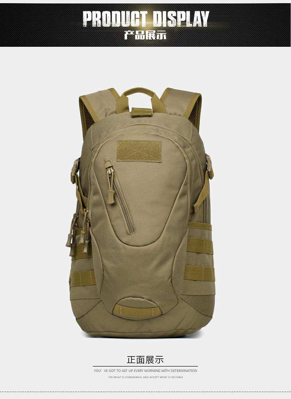 QWKZH Ruckscke für 20 Liter Outdoor Sparrow Outdoor Bag Tarnung taktischer Rucksack Reitrucksack taktischer Angriffstasche