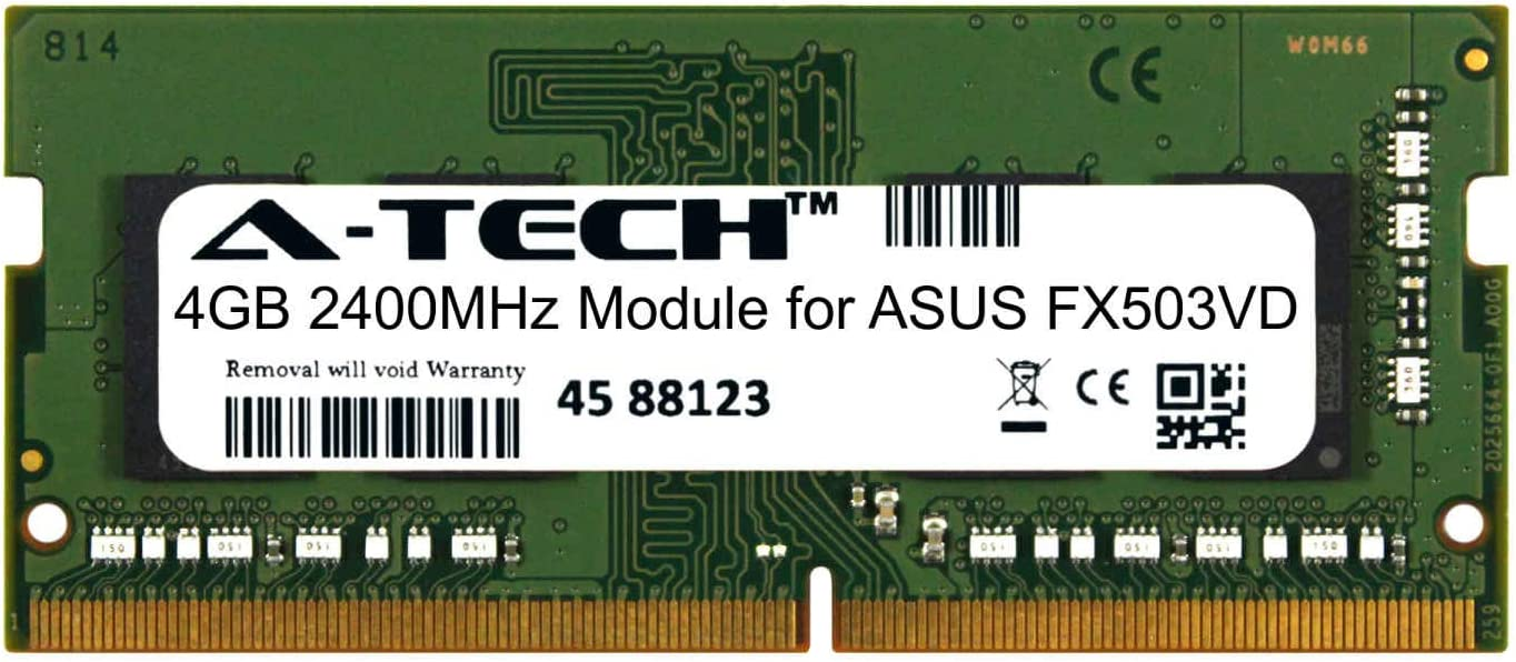 A-Tech depot 4GB Module Atlanta Mall for ASUS Compatible FX503VD Notebook Laptop