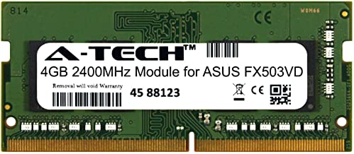 A-Tech 4GB Module for ASUS FX503VD Laptop & Notebook Compatible DDR4 2400Mhz Memory Ram (ATMS394344A25824X1)