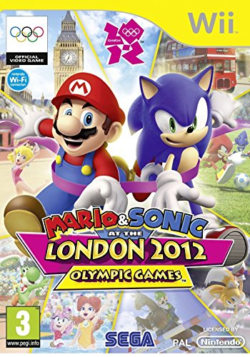 SEGA Mario and Sonic at the London 2012 Olympic Games, Wii Nintendo Wii videogioco