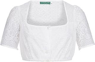 Country-Line Damen Trachten-Mode Dirndlbluse Gusta in Ecru traditionell
