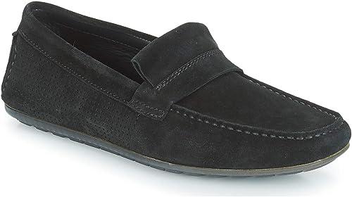 BOSS Dandy_mocc_sdpf Herren Schuhe Schwarz