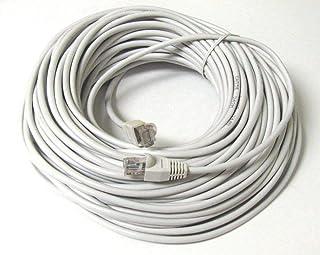 50 Meter RJ45 CAT6 ETHERNET LAN NETWORK Grey CABLE