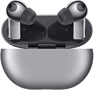 Huawei T0003 FreeBuds Pro Wireless In-Ear Headset with Noise Cancelation and Bluetooth 5.0 - Silver Frost