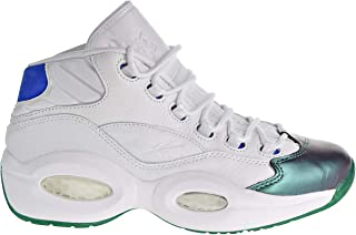 96d929741fcc Reebok Question Mid Curren y Jet Life Men s Shoes Stem Green Vital Blue