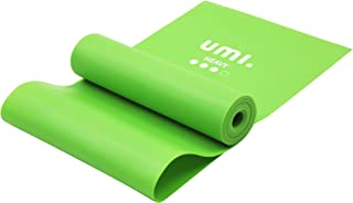 [Amazonブランド] Umi(ウミ)- ストレッチバンド エクササイズバンド トレーニング用チューブ ラテックスフリー 1.5m 2m 滑り止め TPE素材 無刺激 4種強度 ヨガ 筋トレ リハビリ セラバンド体操に最適