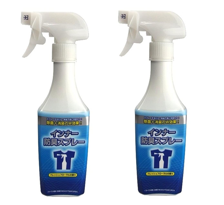 シェル任命する意外インナー防臭スプレー フレッシュフローラルの香り 300ml x 2個セット