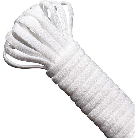 ゴム 丸ゴム 弾力線 弾力紐 手作り 手芸 切って使える大容量イズ ポリウレタンゴム 柔らかいタイプ(10M)