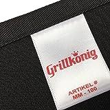Mr. Good Looking Is Cooking - Kochschürze, lustige Grillschürze für Männer mit verstellbarem Nackenband und Seitenschürze (schwarz) - 2