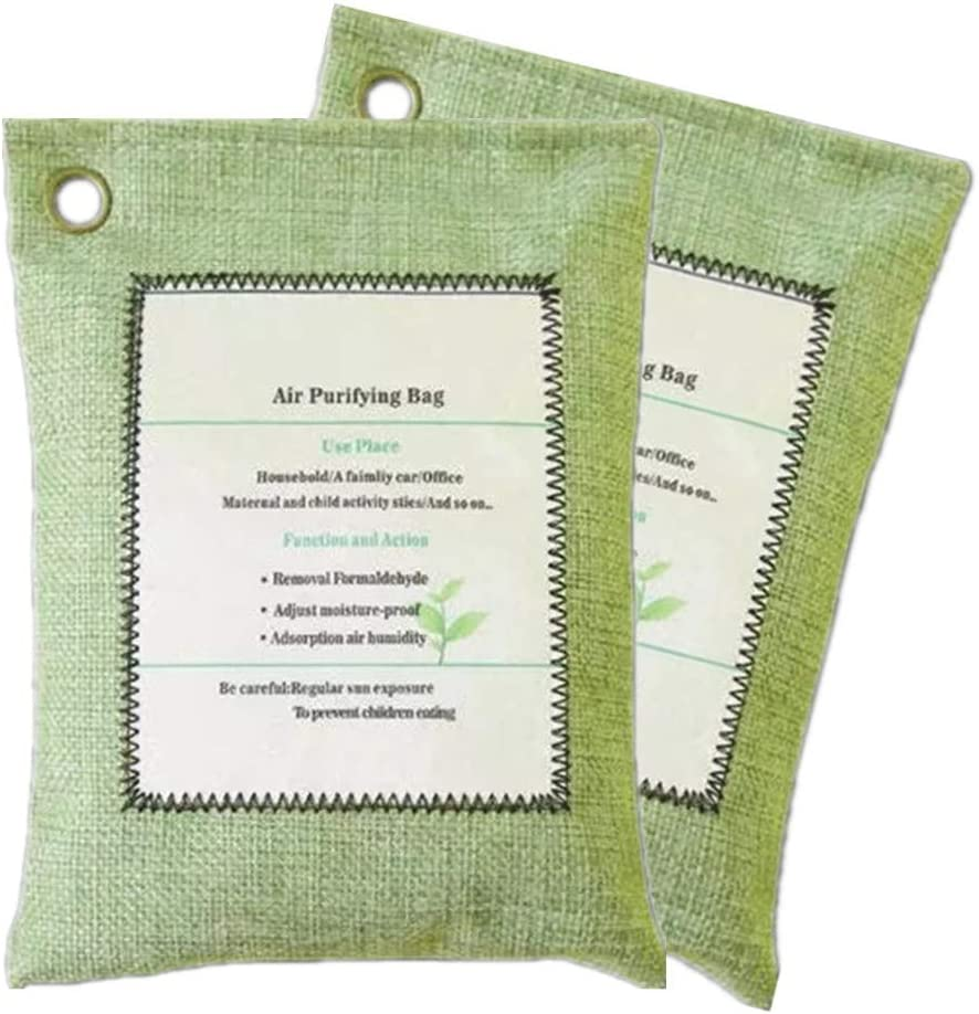 Fashion Gorgerous Active Carbon Air Freshener Bag Pack Luxury Gree - Breathe 2