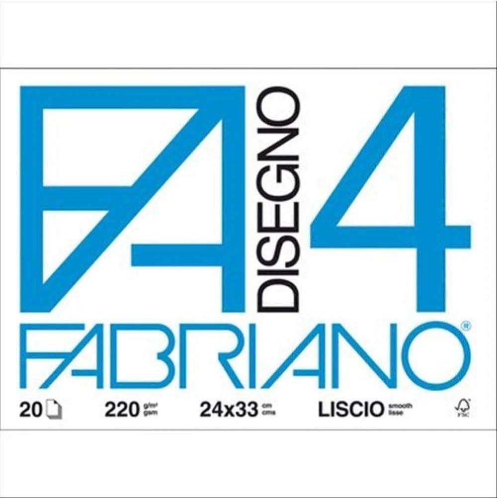 Fabriano F4 Album da Disegno 33 x 24 cm 20 fogli Bianco 1 PZ 05200597S