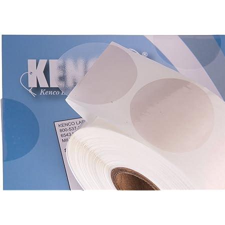 132x Round Gloss Bags Transparent File Sealing Self Adhesive Label Dot Sticker