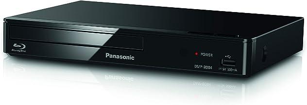 Panasonic DMP-BD84EG-K Reproductor BLU-Ray Full HD (Unidad Compacta, HDMI, Sensación Home Cinema, Internet Apps, Contenido Digital, Puerto LAN, USB, FLAC, CD, DVD, CD-R, MP4, MP3, JPEG)-Color Negro