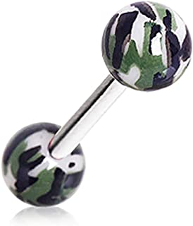 Best camouflage tongue rings Reviews