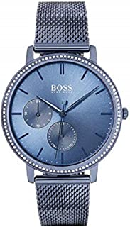 Hugo Boss Womens Quartz Watch, Analog Display and Stainless Steel Strap 1502518