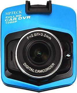 MPTECK @ LCD Cámara de Coche HD 1080P Videocámara DVR Vehículo Caja Negra Grabadora de Conducción para coche apoyo G-sensor  Detección de movimiento  Salida HDMI  Visión Nocturna