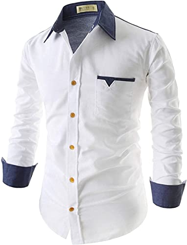 S Meera Collection Full Sleeve Slim Fit Plain Formal Shirt For Men 100 Cotton Shirts Office Wear Formal Shirt