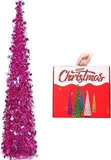 Best fuchsia christmas tree decorations Reviews