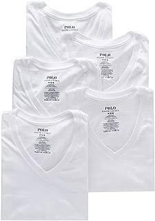 Polo Ralph Lauren Men's 5-Pack V-Neck Tee